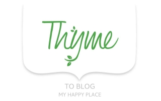 Thyme to blog my happy place