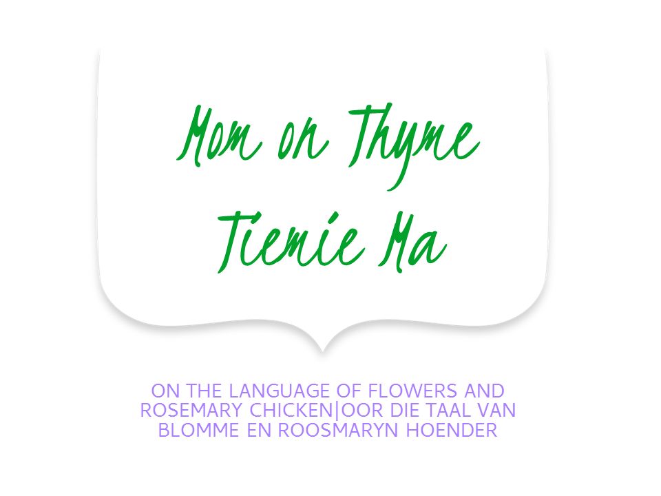 Mom on Thyme language of flowers