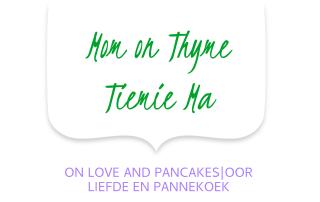 Mom on Thyme liefde en pannekoek