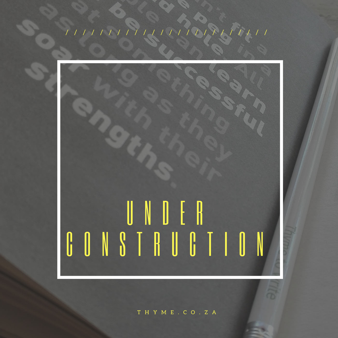 Under construction blog